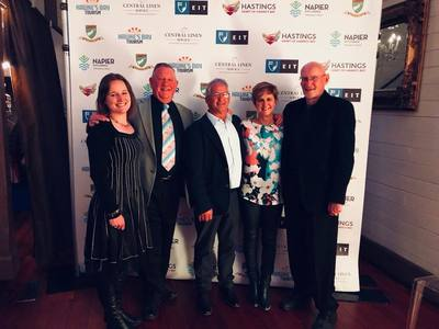 Prinsy's Tours team exclusive private wine tours Hawkes Bay win award